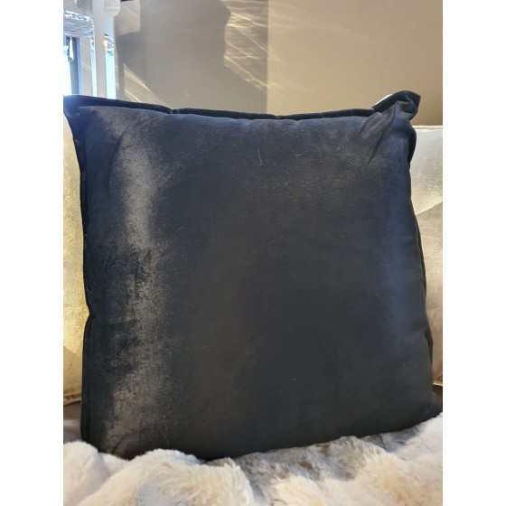 Diga Colmore kussen velvet zwart 50x50