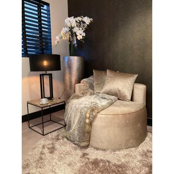Luxury Poef | Ronde fauteuil | Loveseat | Furr