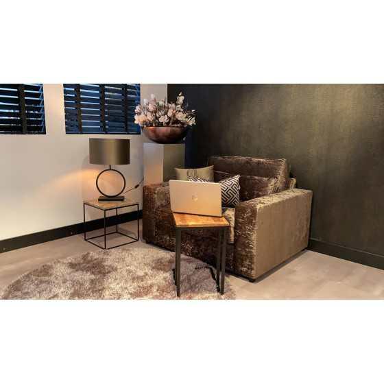 Laptop tafel | Bijzettafel mango hout 50x35x55