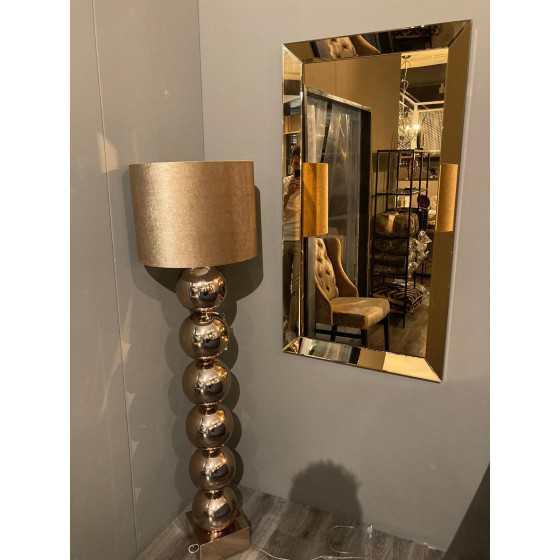 Spiegel met Spiegellijst Brons 70x130cm | Metropolitan Luxury Stijl | Spiegel Zijkant