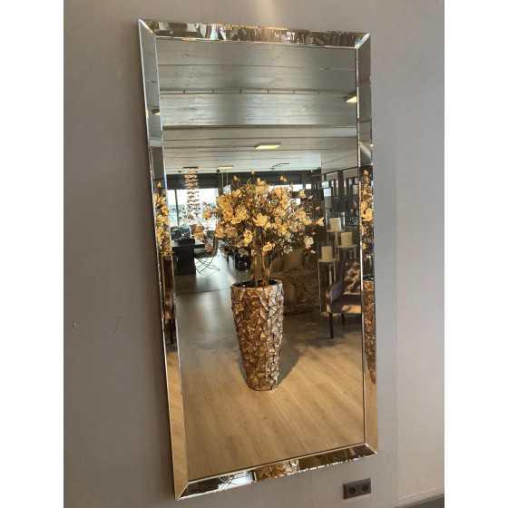 Spiegel met Spiegellijst sepia 200x100cm | Metropolitan Luxury Stijl | Spiegel Zijkant