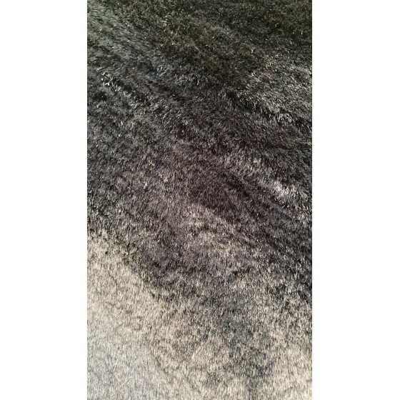 Vloerkleed Plush zwart 160x230cm
