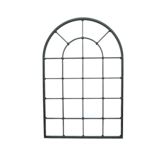 Staldeur spiegel XL zwart 137x90x4