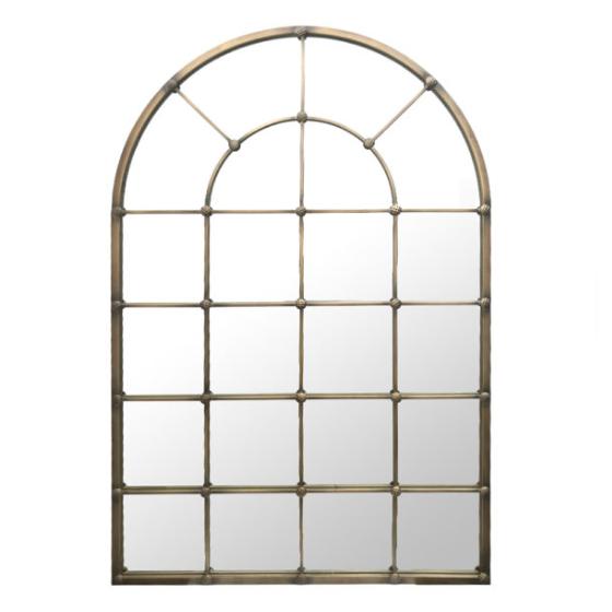 Staldeur spiegel XL brons 137x90x4