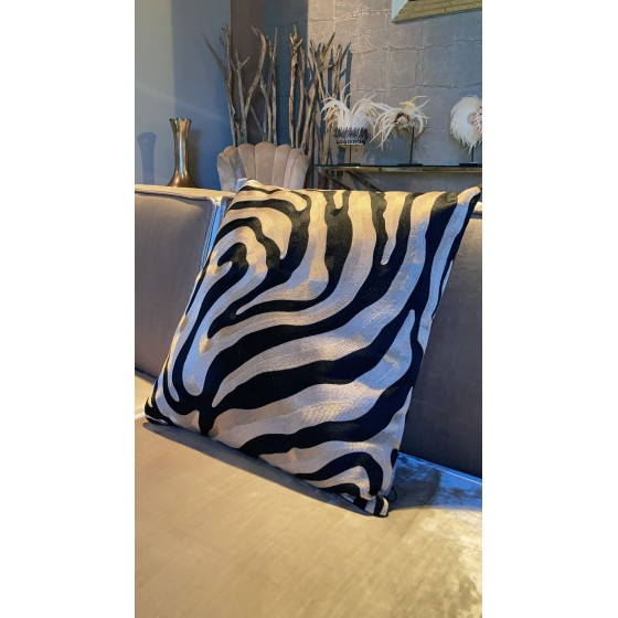 Diga Colmore kussen zebra 50x50cm