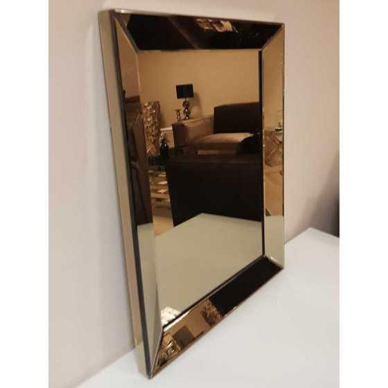 Spiegel met Spiegellijst Sepia 90x70cm | Metropolitan Luxury Stijl | Spiegel Zijkant