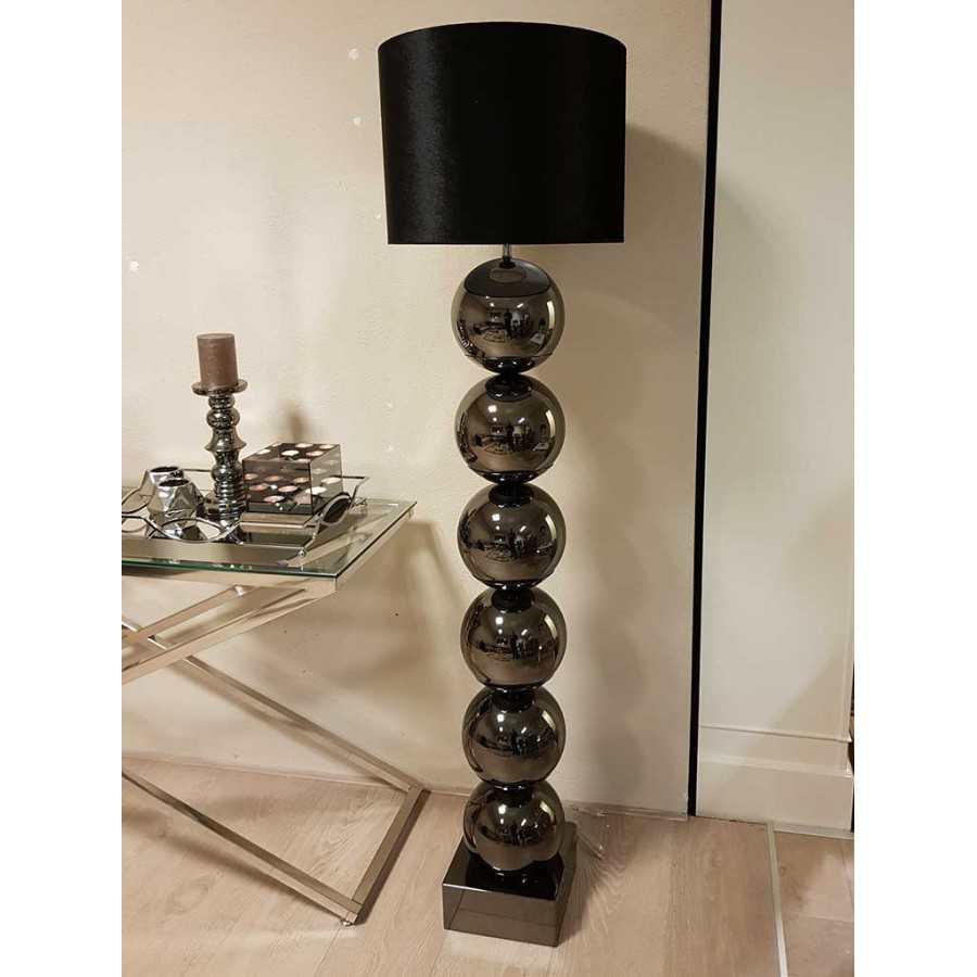 Bollenlamp Vloerlamp Antreciet inclusief kap 155cm
