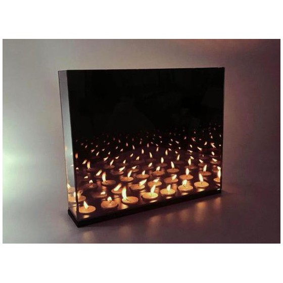 Infinity Waxinehouder 7-Licht 38x32x8