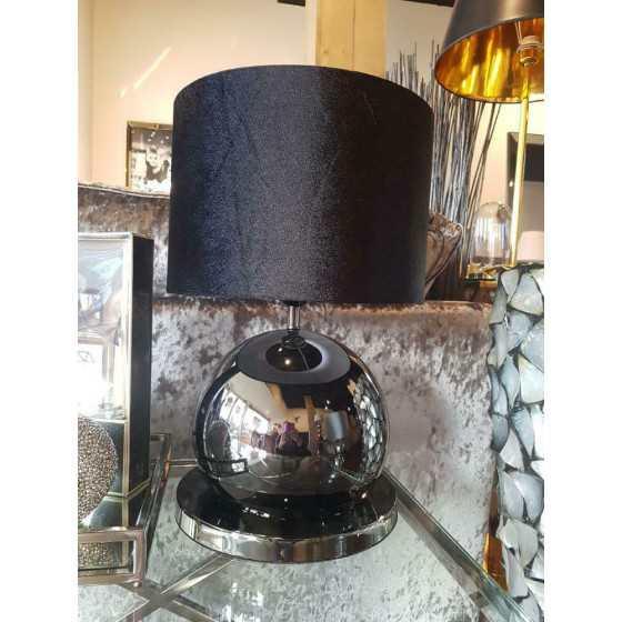 Bollenlamp 1 bol zwart