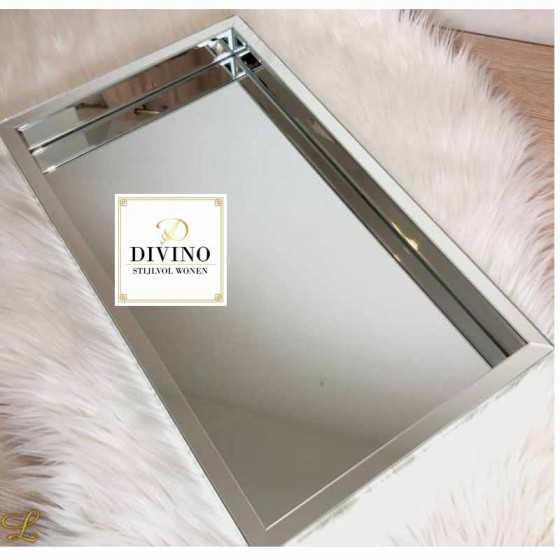 Spiegel Zilver Dienblad 30x50cm
