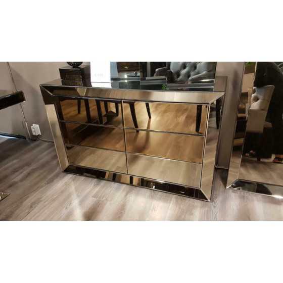 Spiegel Dressoir 125x45 sepia