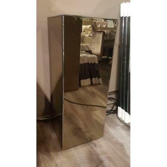 Spiegel pilaar sepia 70x30x30