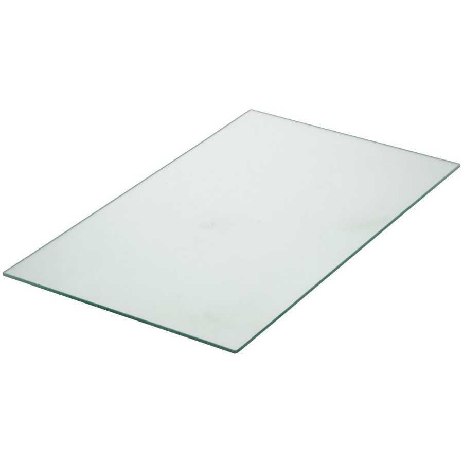Glasplaat eettafel 160x90cm
