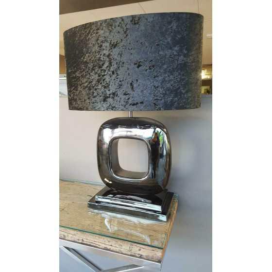 Tafellamp Dubai zwart 50cm