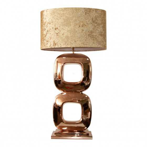 Tafellamp Dubai brons 80cm