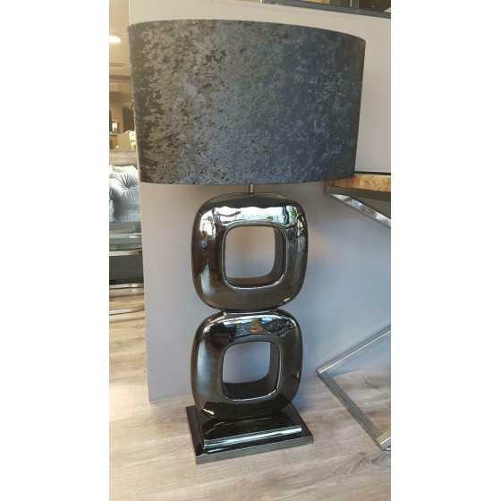 Tafellamp Dubai zwart 80cm