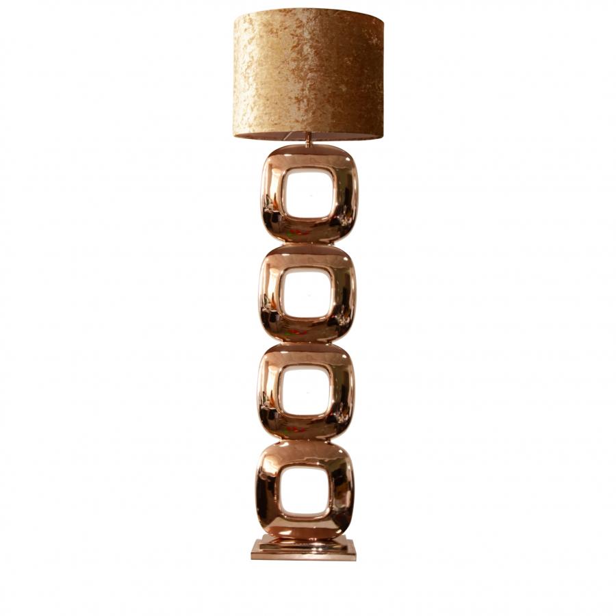 Vloerlamp Dubai brons 155cm