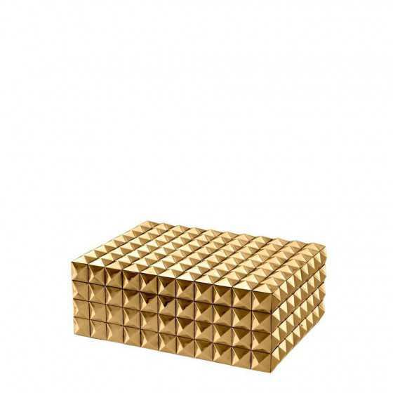 Eichholtz doos goud Vivienne 29,5x22x12cm