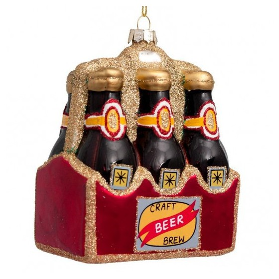 Vondels kerstbal biertray 11 cm