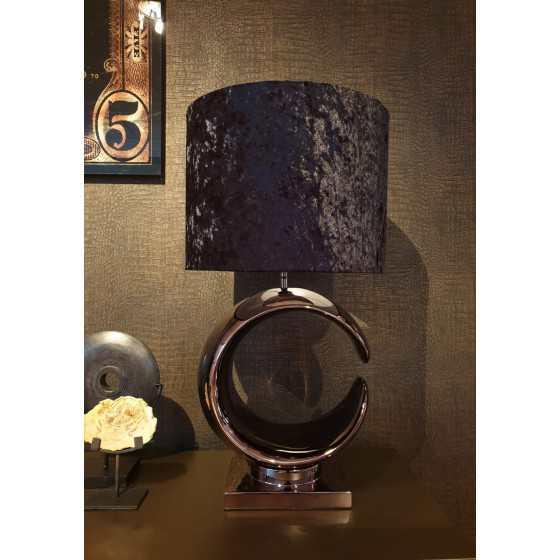 Tafellamp Paris Zwart 75 cm
