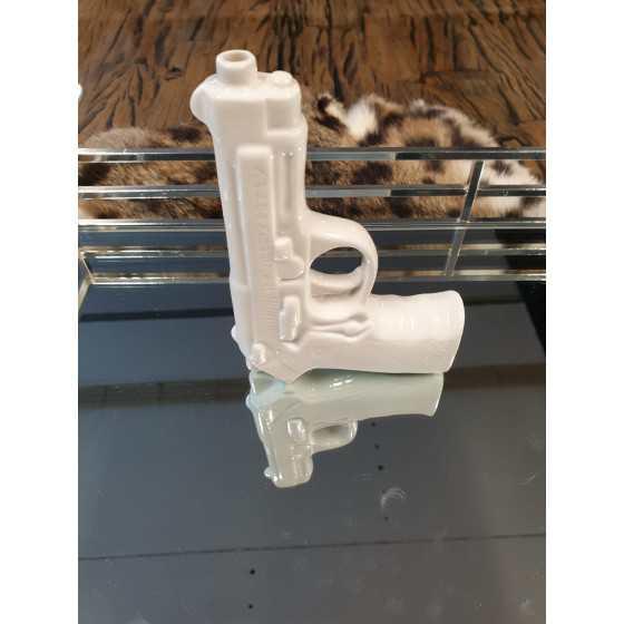 Wit Pistool Gun 16x11 cm
