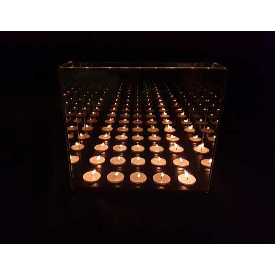 Infinity Waxinehouder 5-Licht 28x25x5