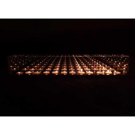 Infinity Waxinehouder 12-Licht 65x40x8cm