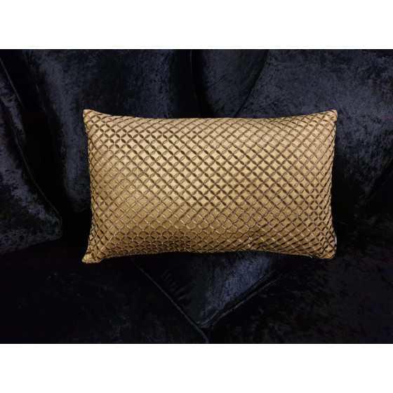 Kussen goud diga colmore 35x60 cm