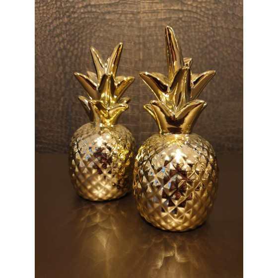 Gouden ananas 16cm
