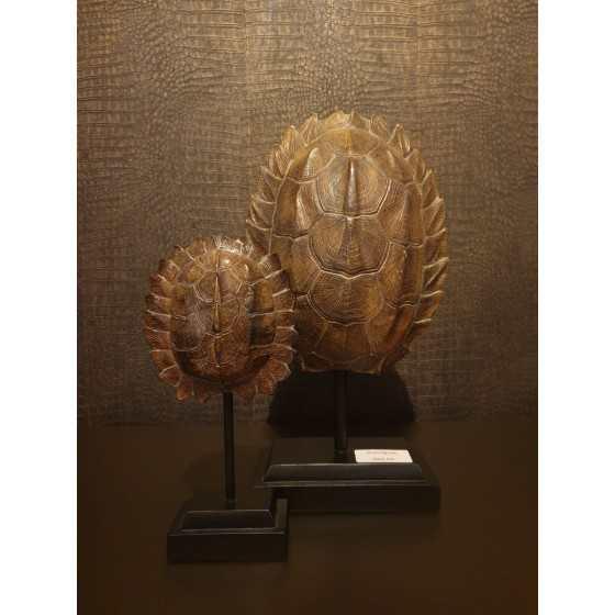 Houten schild op statief Groot 40cm