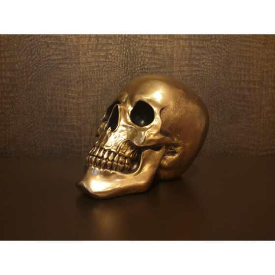 Skull Goud 25cm
