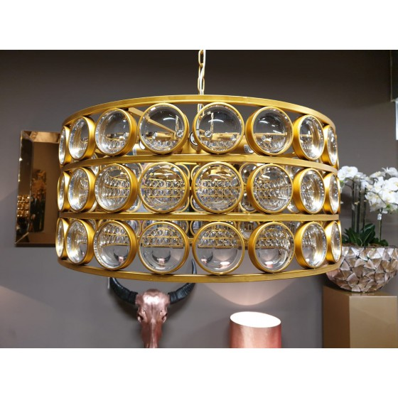 Hanglamp Destiny Goud 8-Lights