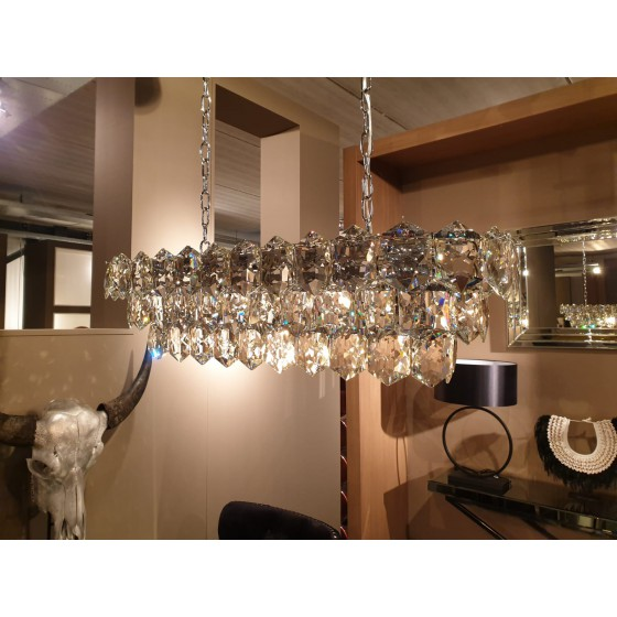 Hanglamp Rose zilver 13-Lights