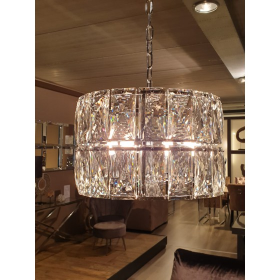 Hanglamp Vienna zilver 4-Lights