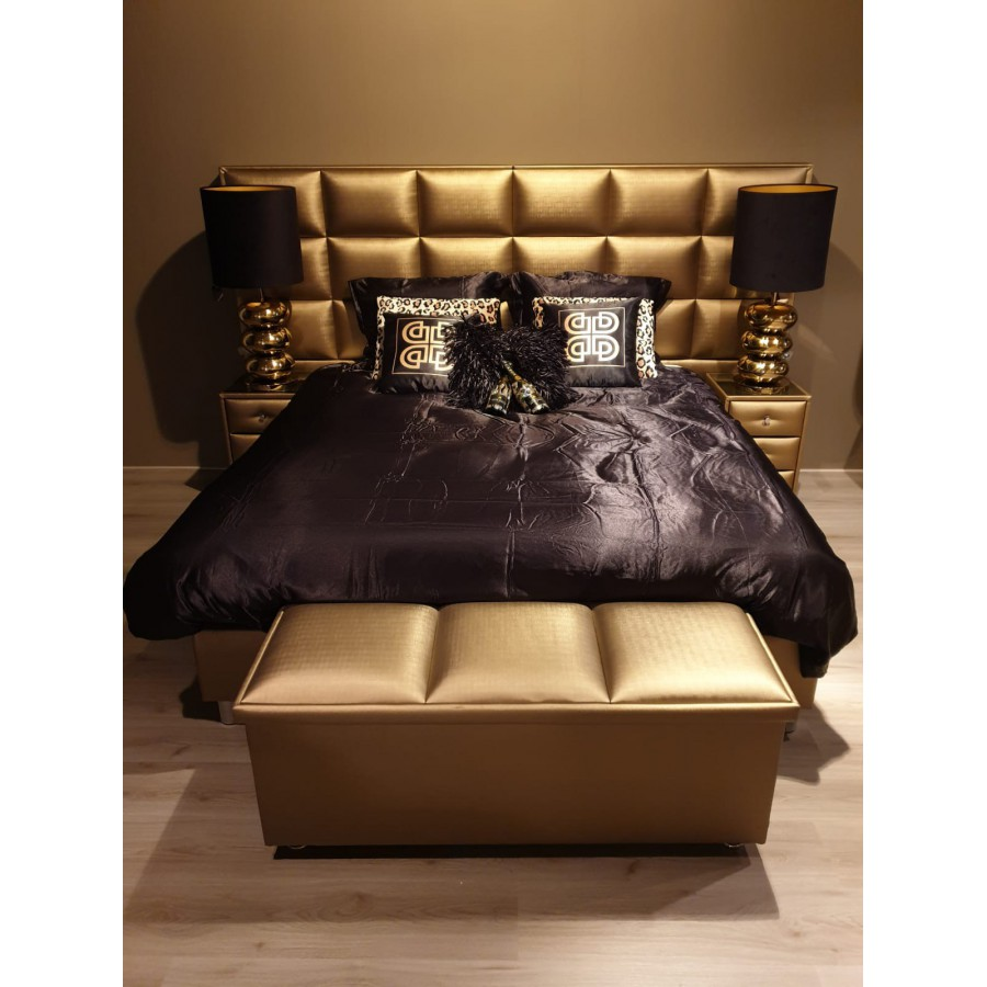 Boxspring 2-Persoons 180x200 Majestic Romantic Bronze