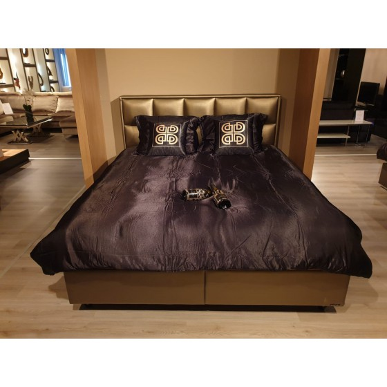 Boxspring 2-Persoons 180x200 compleet Scarlett Brons