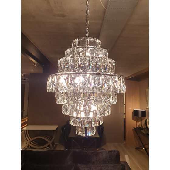 Hanglamp Izzy zilver 16-Lights
