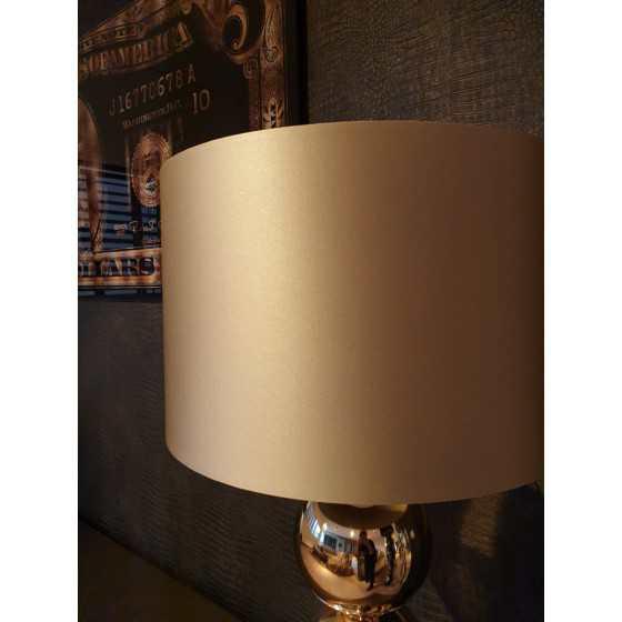 Bollenlamp 3 bol Goud met kap 83 cm