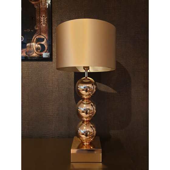Bollenlamp 3 bol Goud 83 cm