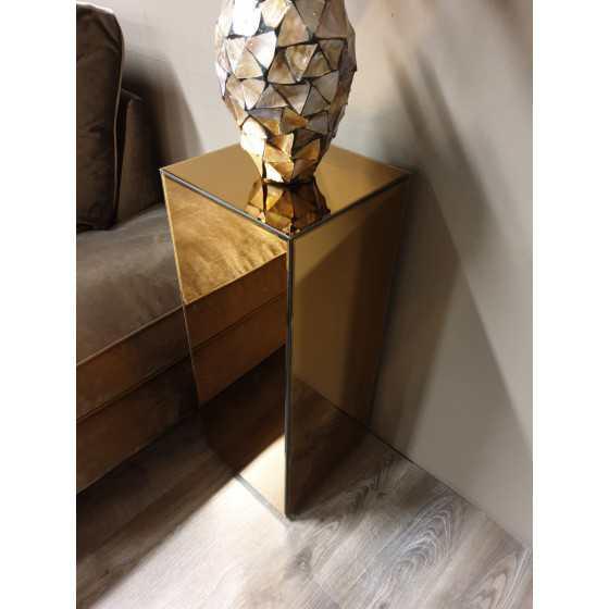Spiegel pilaar brons 70x30x30