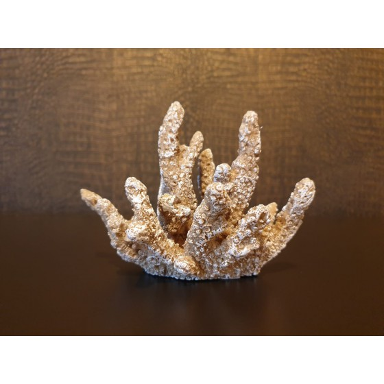 Taupe koraal imitatie 11x16cm
