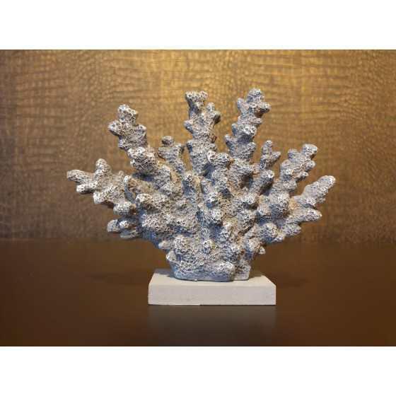 Grijs koraal imitatie 15x18cm