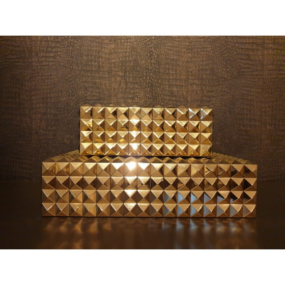 Eichholtz boxen goud Vivienne 29,5x22x12cm