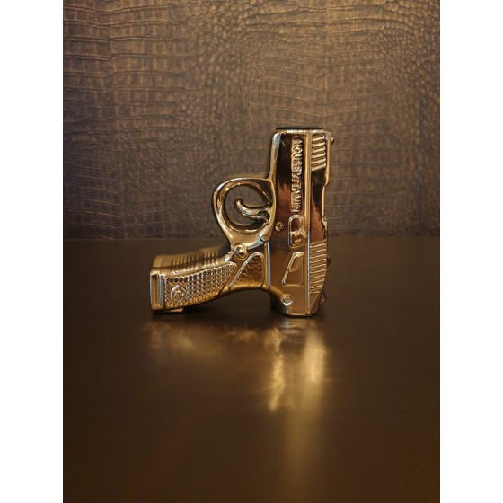 Gouden Pistool kaarsenhouder