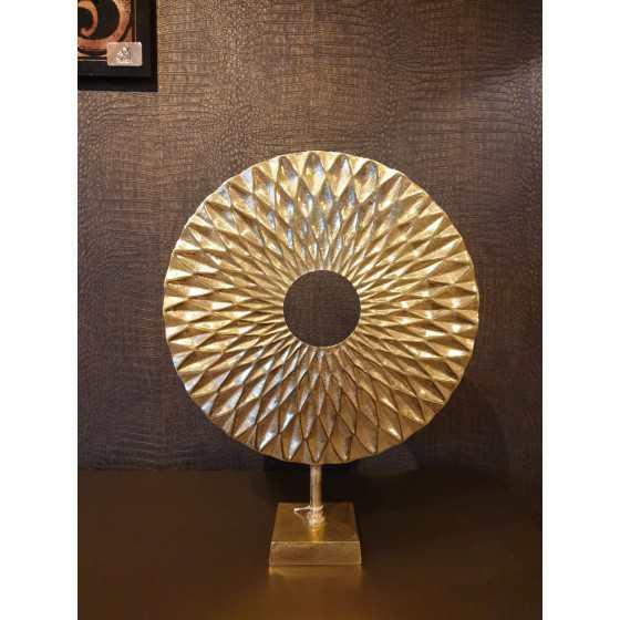 Gouden ornament op voet 50cm