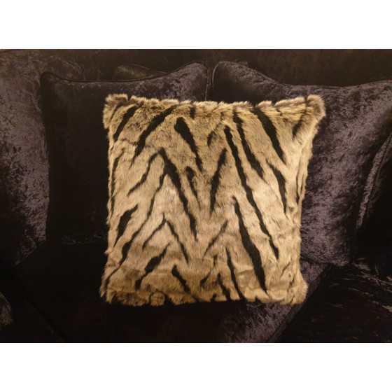 Kussen bont zebra 45x45cm