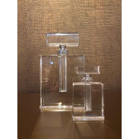 Kristal parfum fles 14cm