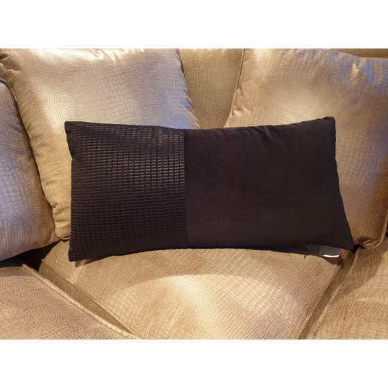 Kussen Black Velvet 55x25cm
