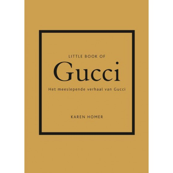 Little book of Gucci goud