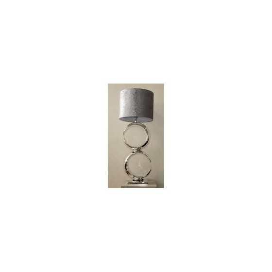 Tafellamp Paris Zilver 80 cm